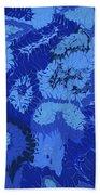 Liquid Blue Dream - V1lle30 Beach Towel