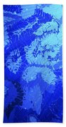 Liquid Blue Dream - V1lllt90 Beach Towel