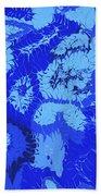 Liquid Blue Dream - V1sl100 Beach Towel