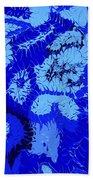Liquid Blue Dream - V1vhkf100 Beach Towel