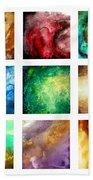 Liquid Color I By Madart Beach Towel