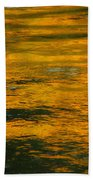Liquid Fire Beach Towel