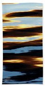 Liquid Setting Sun Beach Towel