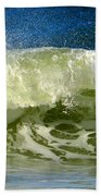 Liquid Thunder Beach Towel