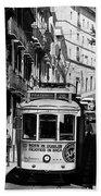 Lisbon Trolley 16b Beach Towel
