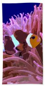 Little Clown Fish Beach Towel