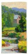 Little Creek Farm Beach Towel