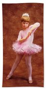 Little Dancer Beach Towel