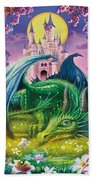 Little Dragon Beach Towel