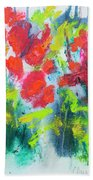 Little Garden 01 Beach Towel