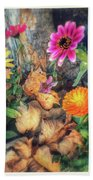 Little Garden Beach Towel
