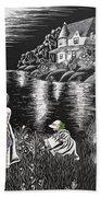 Little Girls Beach Towel by Svetlana Sewell