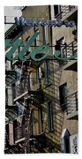 Little Italy In New York Beach Towel