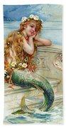 Little Mermaid Beach Sheet