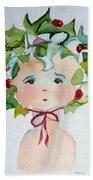 Little Miss Innocent Ivy Beach Towel
