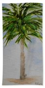 Little Palm Tree Beach Towel