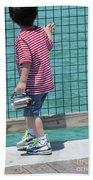 Little Photographer Beach Towel