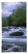 Little Pigeon River Beach Towel