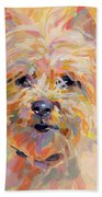 Little Ray Of Sunshine Beach Towel by Kimberly Santini