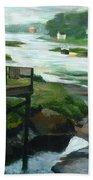 Little River Gloucester Study Beach Towel