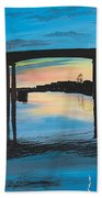 Little River Waterfront Beach Towel