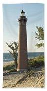 Little Sable Point Light Beach Towel