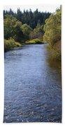 Little Spokane River Beach Towel