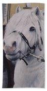Little Stallion-glin Fair Beach Towel