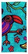 Little Toucan Beach Towel
