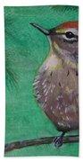 Little Warbler Beach Towel