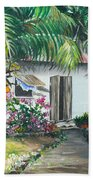Little West Indian House 2...sold Beach Towel