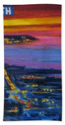 Live Eye Over Dartmouth Ns Beach Towel