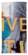 Live It Up Beach Towel