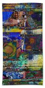 Live Life In Color Beach Towel