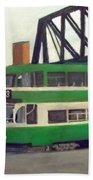 Liverpool Tram 1953 Beach Towel
