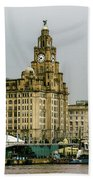 Liverpool Waterfront Beach Towel