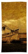 Living In The Past Beach Towel