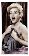 Liz Fraser, Vintage British Actress Beach Towel