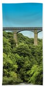 Llangollen Viaduct Beach Towel