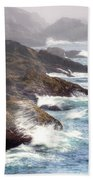 Lobster Cove Beach Towel