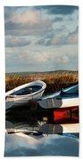 Loch Harray Dawn V Beach Towel