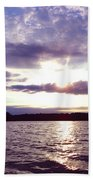 Loch Raven Sunrise Beach Towel