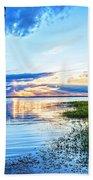 Lochloosa Lake Beach Towel