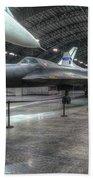 Lockheed Yf-12a Beach Towel