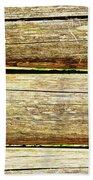 Log Files Beach Towel