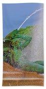 Logan Circle Fountain 3 Beach Towel