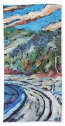 Loggers Road  Beach Towel