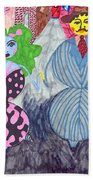 Lois And Arnold Roundabout Beach Towel