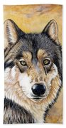 Loki Beach Towel by Sandi Baker