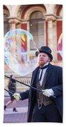 London Bubbles 4 Beach Sheet